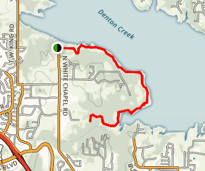 Walnut Grove Trail Map