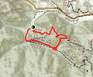 Hostel Loop Trail Map