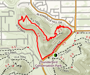 Cholla Loop Map