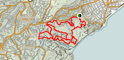 Glenrock Trails Map