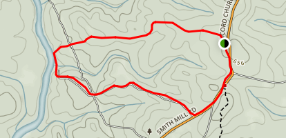 Kinnard Horse Trail Map