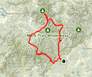 Russell - Brasstown Scenic Byway Map
