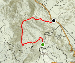 Jacoby Canyon  Map