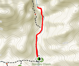 Standley Chasm Trail Map