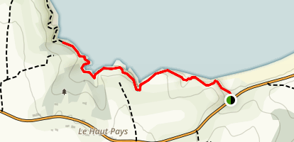 Anse du Guesclin St Coulomb Map