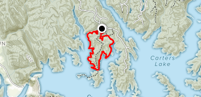 Amadahy Trail Map