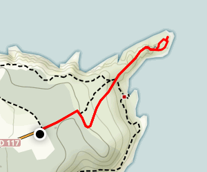 Fort la Latte Map