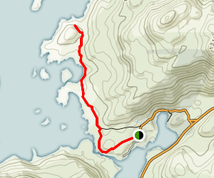 Cuernos Lookout Map