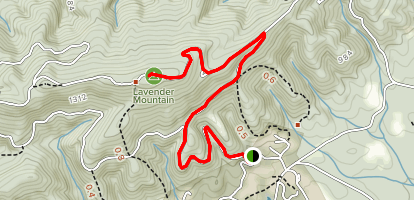 House of Dreams Trail Map