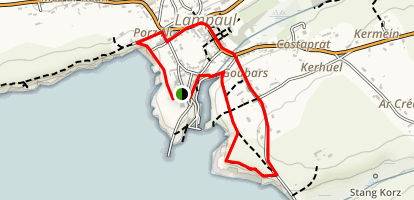 Lampaul City Walk Map