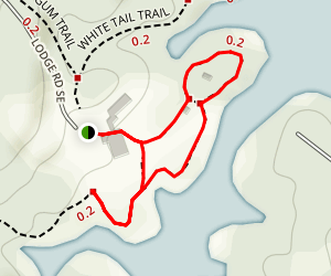 Lakeside Trail Map