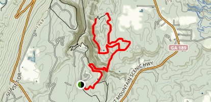 Bear Creek Back Country Trail [CLOSED] Map