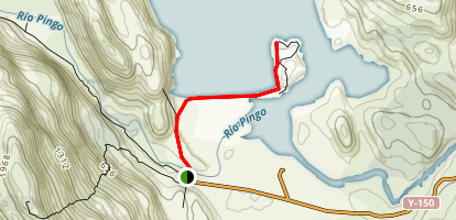 Grey Lake Beach Hike Map