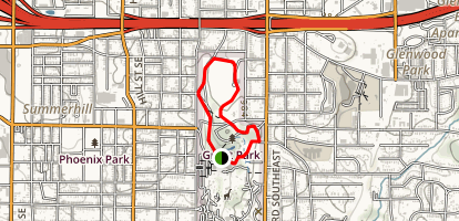 Grant Park Loop Trail Map