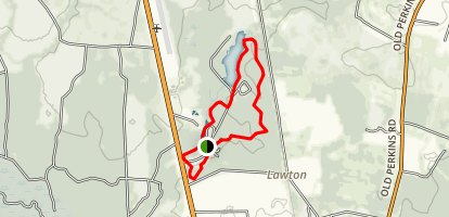 Magnolia Springs Loop Trail Map