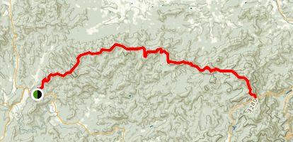 Duncan Ridge Trail Map