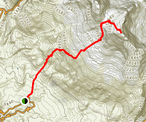 Huascaran Sur Trail Map
