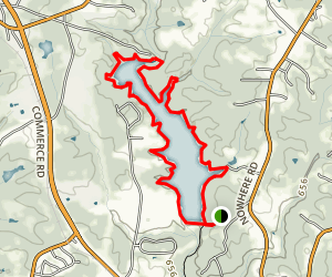 Sandy Creek Lakeside Trail Map