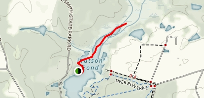 Watson Mill Pond  Map