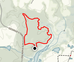 George L. Smith Loop Trail Map