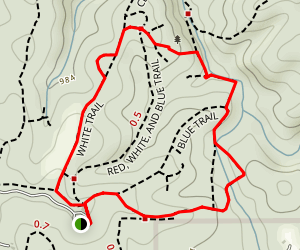 Red & White Loop Map