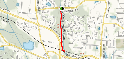 Lucille Creek Trail Map