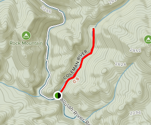 Coleman River Trail Map