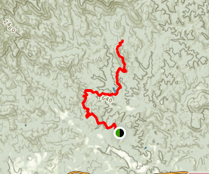 Jones Creek MTB Trail Map