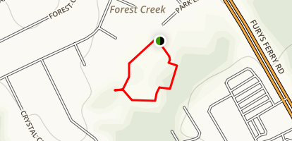 Reed Creek Boardwalk Map