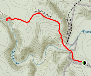 Appsley Gorge Map