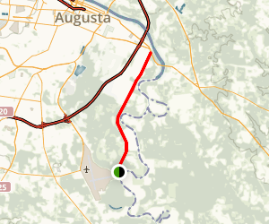 Augusta River Levee Map