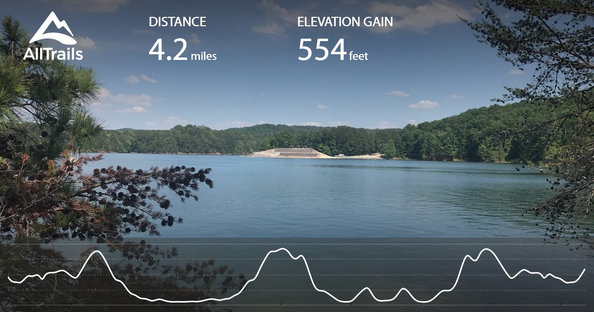Carters Lake: Woodring Campground Area - Georgia | AllTrails