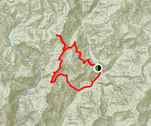 Hyatt Ridge Loop Trail Map