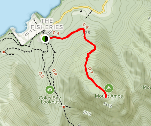Mount Amos Map