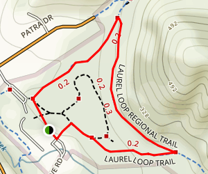 Laurel Loop Trail Map