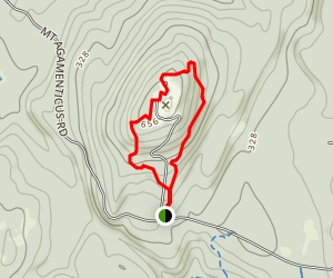 Mount Agamenticus Trail Map