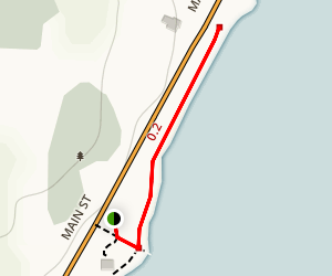 Finkle's Shore Park Trail Map
