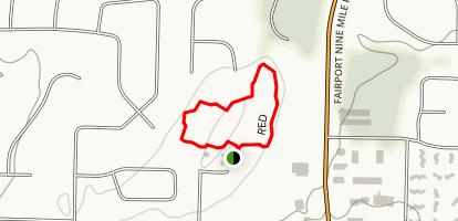 West and East Loop Trails Map