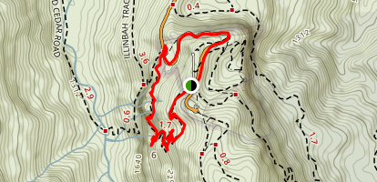 Caves Circuit Map