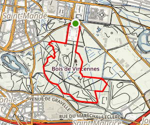 Vincennes Map