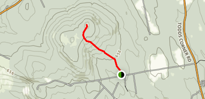 St. Albans Mountain Trail Map