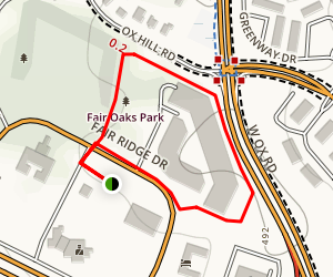 Fair Oaks Loop Map
