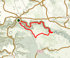 L'Alzou Loop Trail Map