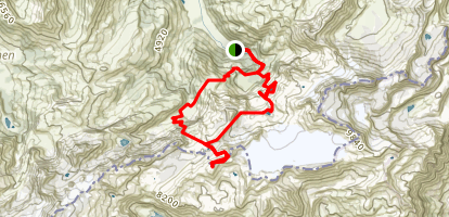 Simmenfalle 3 Day Trek Map