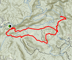 Mac's Gap to Devil's Elbow and Panthertown Valley Loop Trail Map