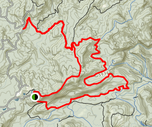 Powerline Road and Blackrock Trail Map
