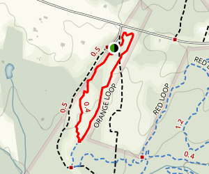 Orange Trail Map