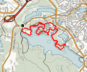 Long Lake Wilderness Trail Loop Map