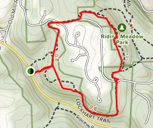 Lockhart Trail Map