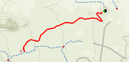 Gray Fox Trail Map